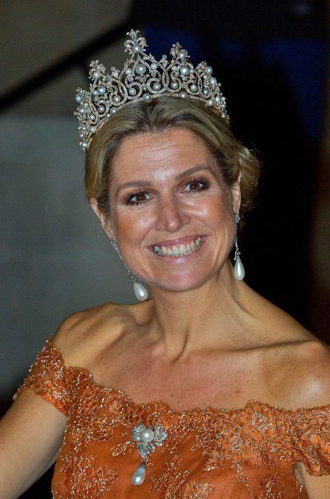 La reine Maxima des Pays-Bas, le 24 juin 2015