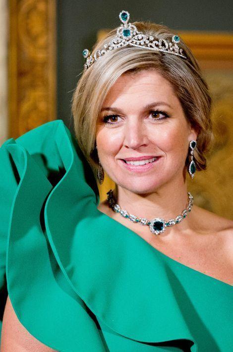 La reine Maxima des Pays-Bas, le 3 juin 2014