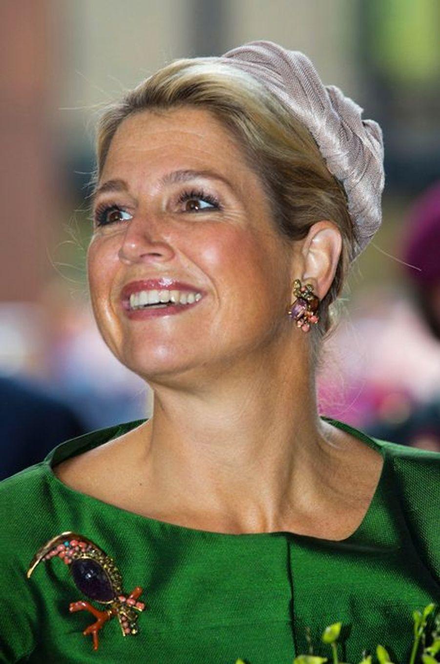 La reine Maxima des Pays-Bas, le 13 septembre 2013