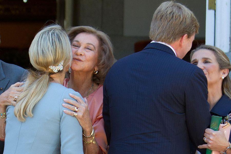 La reine Maxima des Pays-Bas, le 18 septembre 2013