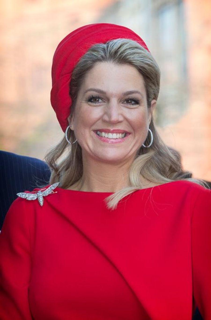 La reine Maxima des Pays-Bas, le 20 mars 2015