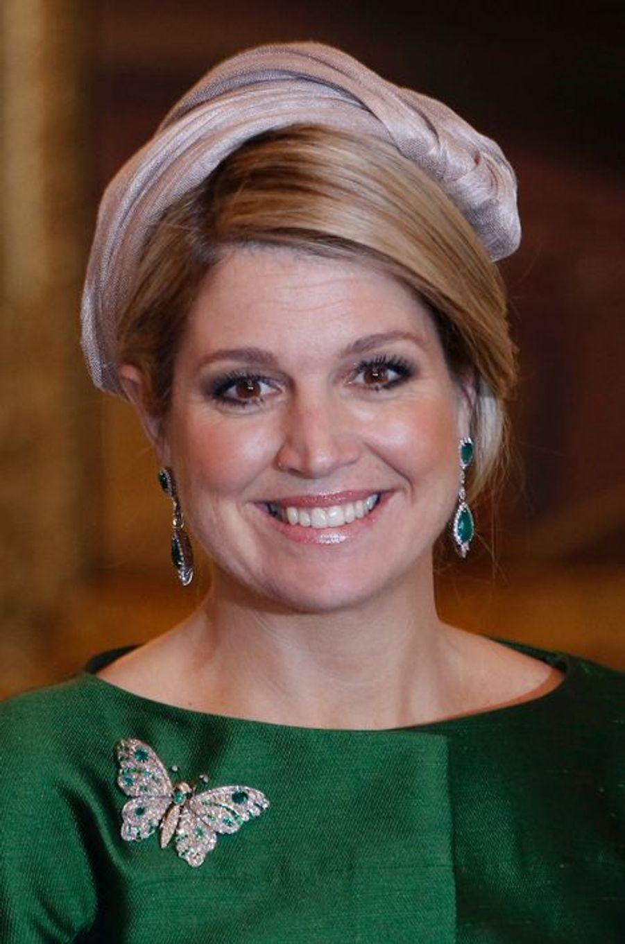 La reine Maxima des Pays-Bas, le 24 mai 2013