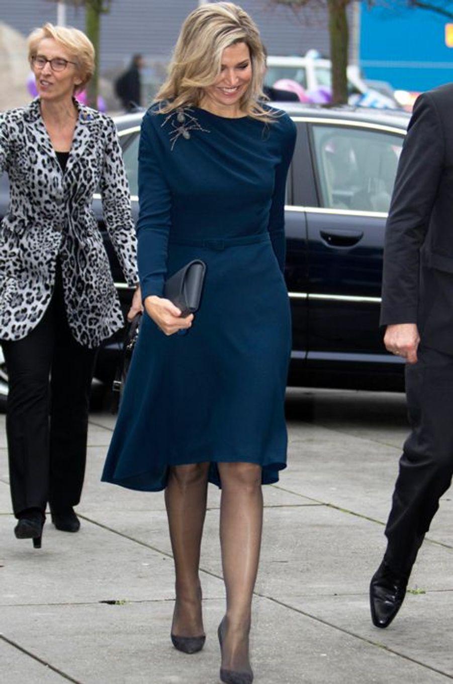 La reine Maxima des Pays-Bas, le 27 novembre 2015