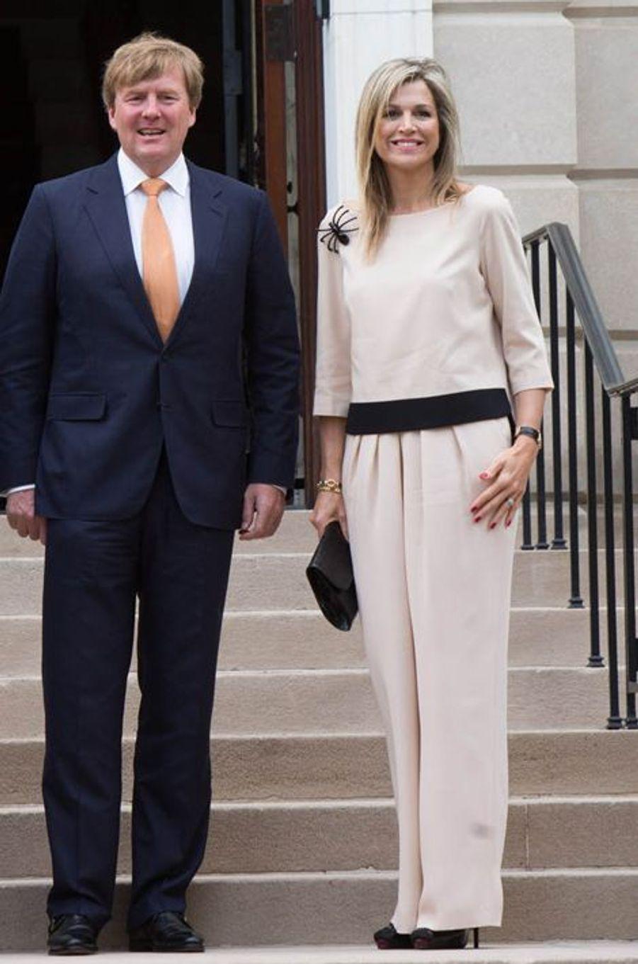 La reine Maxima des Pays-Bas, le 31 mai 2015