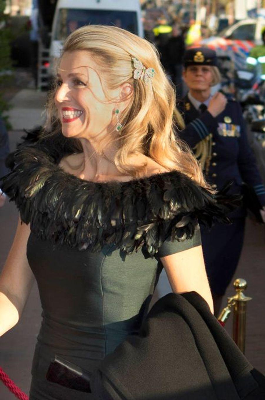 La reine Maxima des Pays-Bas, le 5 mai 2015
