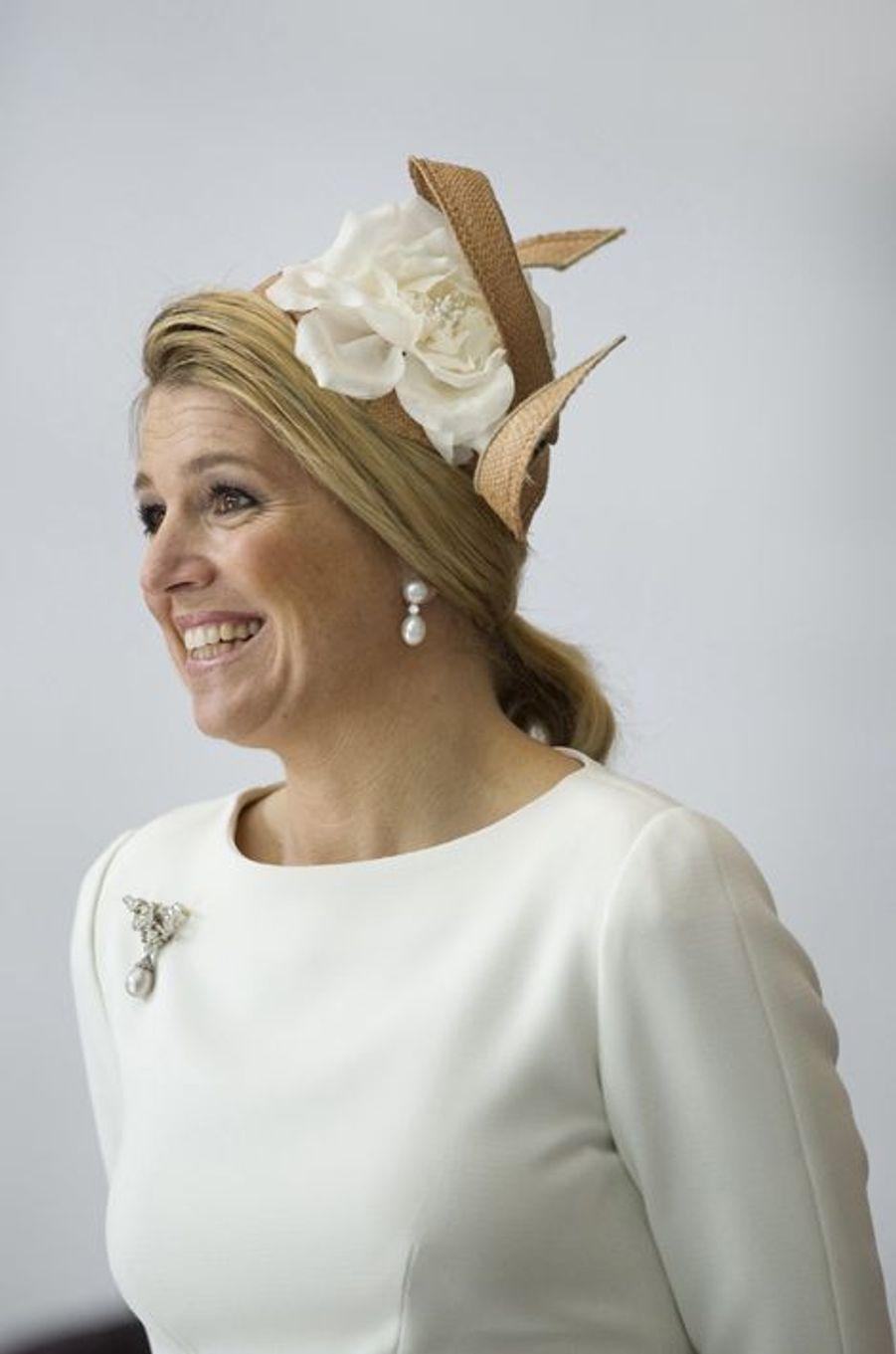 La princesse Maxima des Pays-Bas à Berlin, le 12 avril 2011
