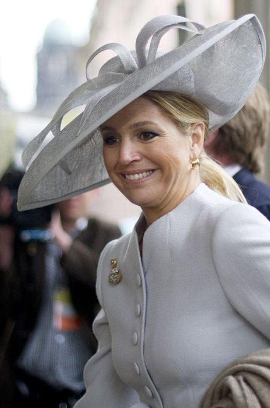 La princesse Maxima des Pays-Bas à Berlin, le 13 avril 2011