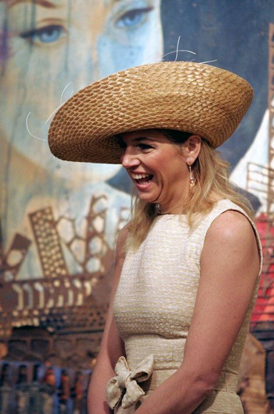 La princesse Maxima des Pays-Bas à Buenos-Aires, le 1er avril 2006