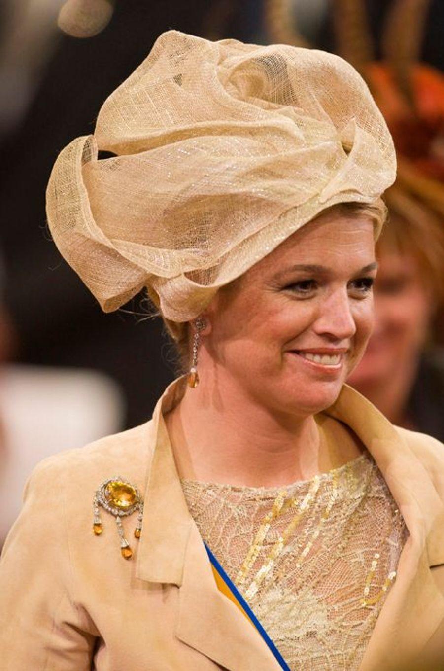 La princesse Maxima des Pays-Bas à La Haye, le 18 septembre 2007