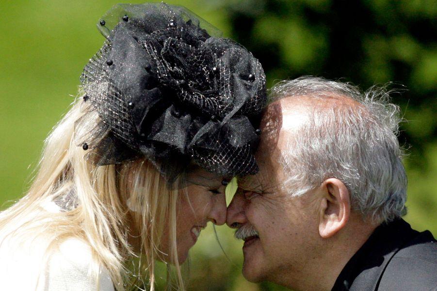 La princesse Maxima des Pays-Bas en Nouvelle-Zélande, le 31 octobre 2006