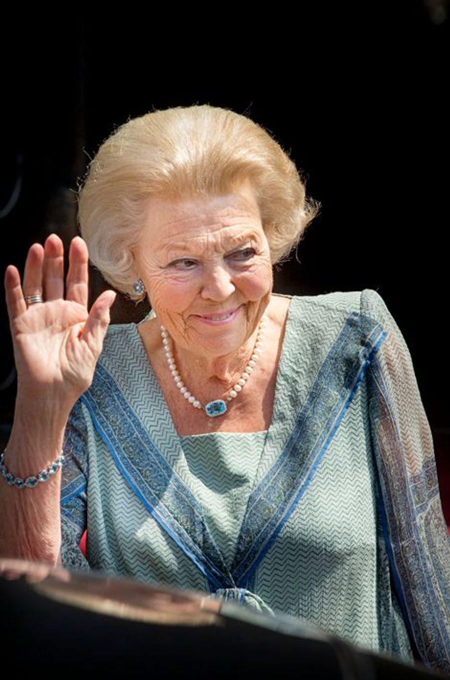 La princesse Beatrix des Pays-Bas à Amsterdam, le 16 juin 2015