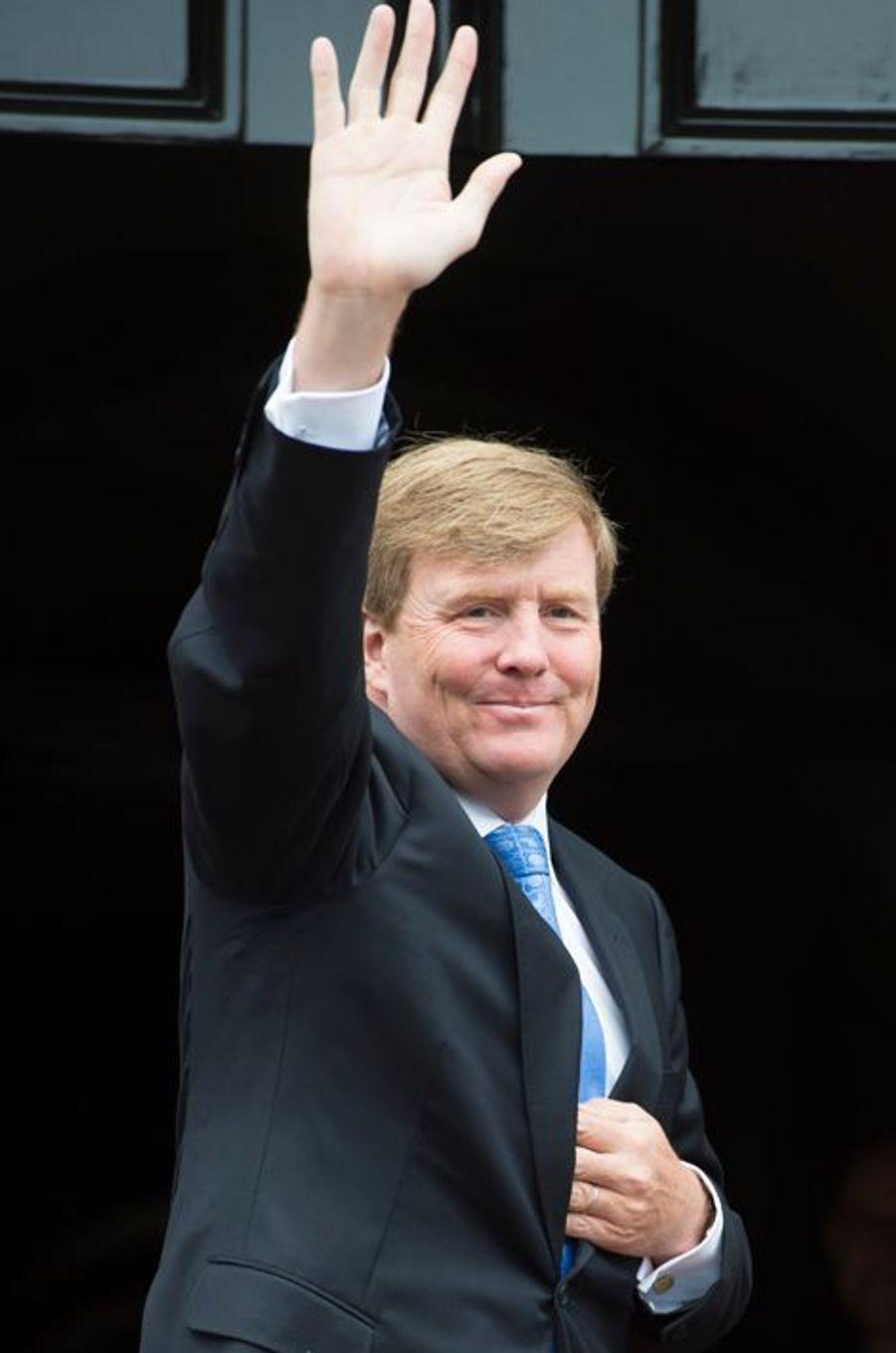 Le roi Willem-Alexander des Pays-Bas à Amsterdam, le 16 juin 2015