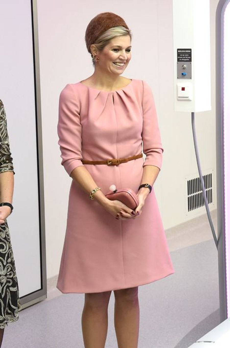 La reine Maxima des Pays-Bas au MITeC à Nimègue, le 12 novembre 2015