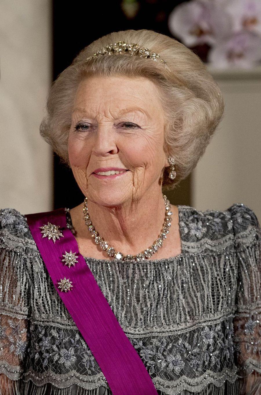 La princesse Beatrix des Pays-Bas à Amsterdam, le 28 novembre 2016