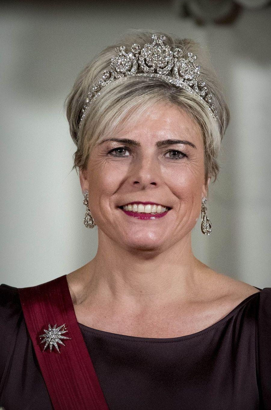 La princesse Laurentien des Pays-Bas à Amsterdam, le 28 novembre 2016