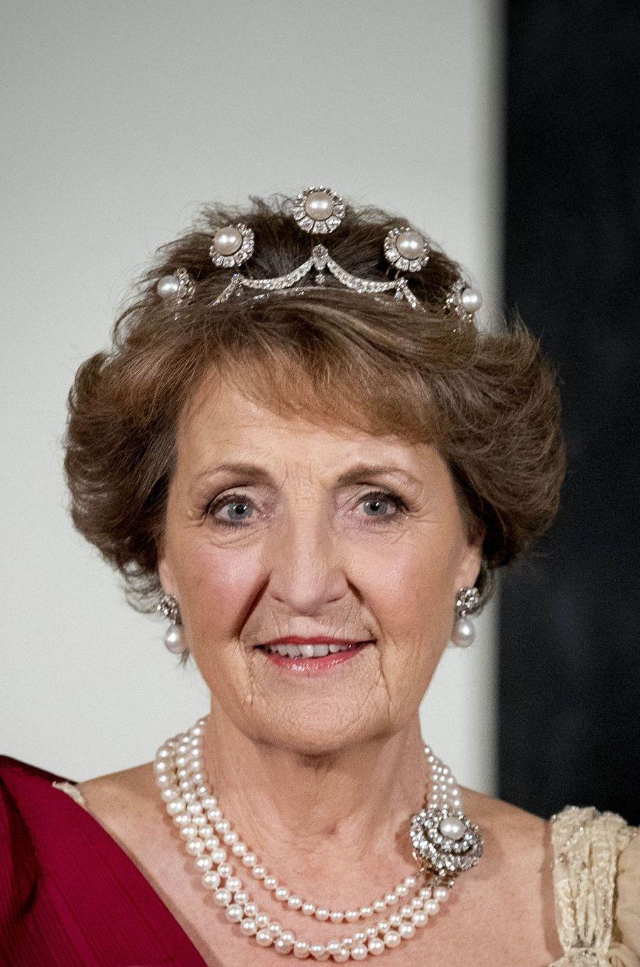 La princesse Margriet des Pays-Bas à Amsterdam, le 28 novembre 2016