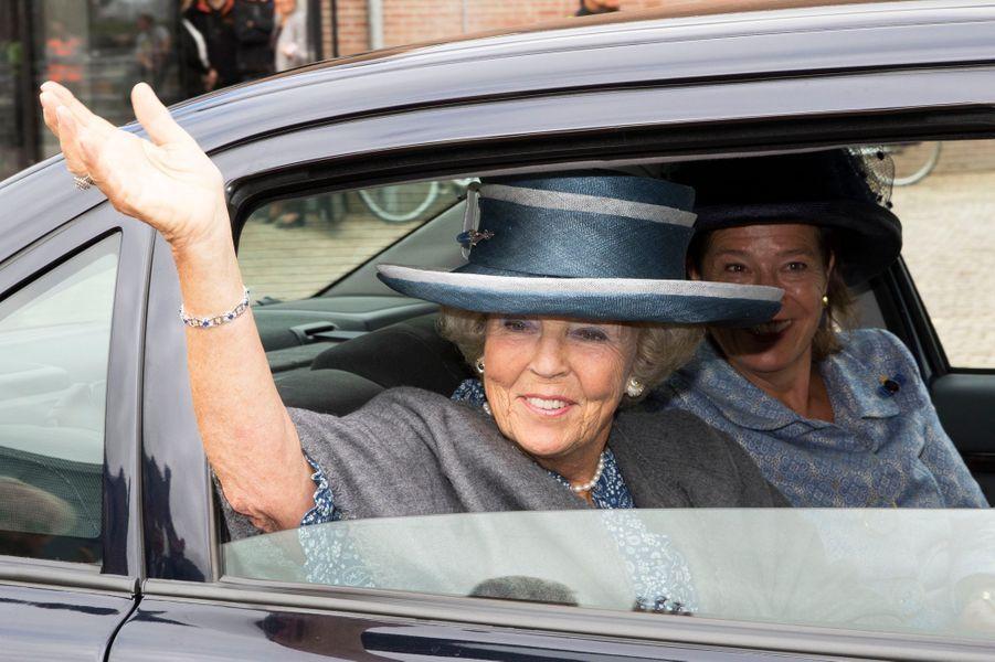 La princesse Beatrix des Pays-Bas à Den Helder, le 8 septembre 2015