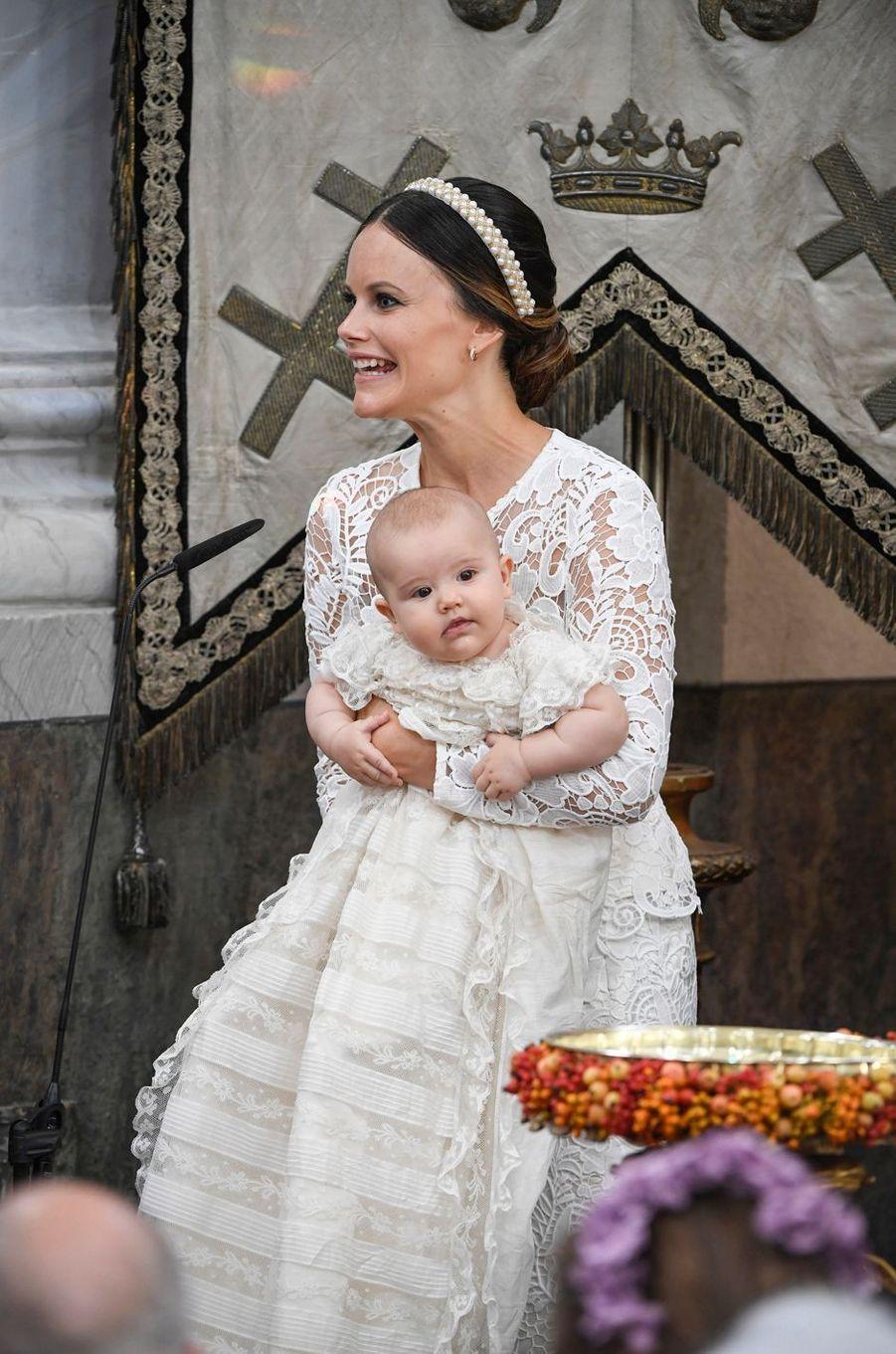 La princesses Sofia de Suède et le prince Alexander à Stockholm, le 9 septembre 2016