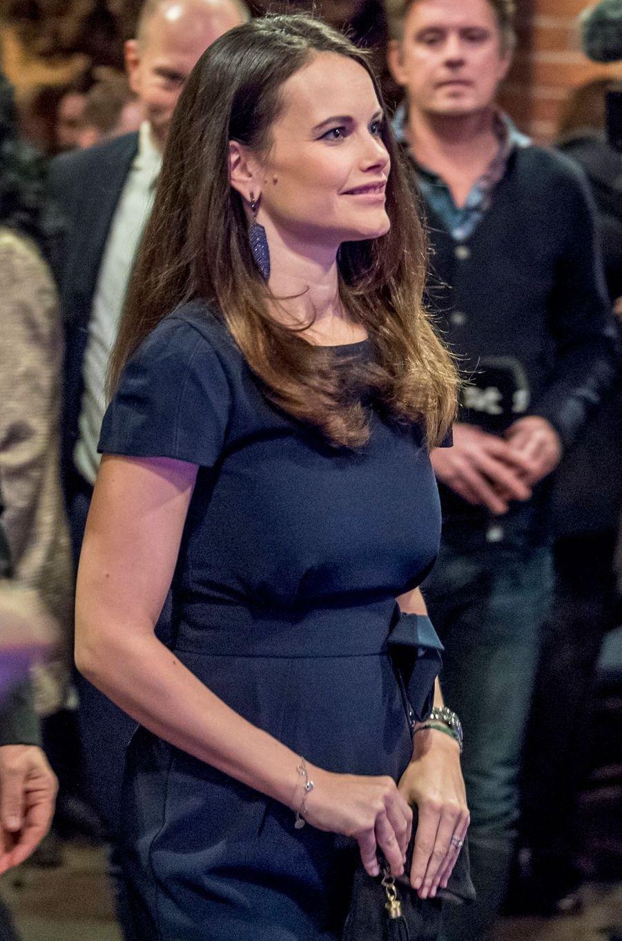 Princesse Sofia De Suede Au Concert De Noel À Stockholm Le 21 Décembre 2016 11