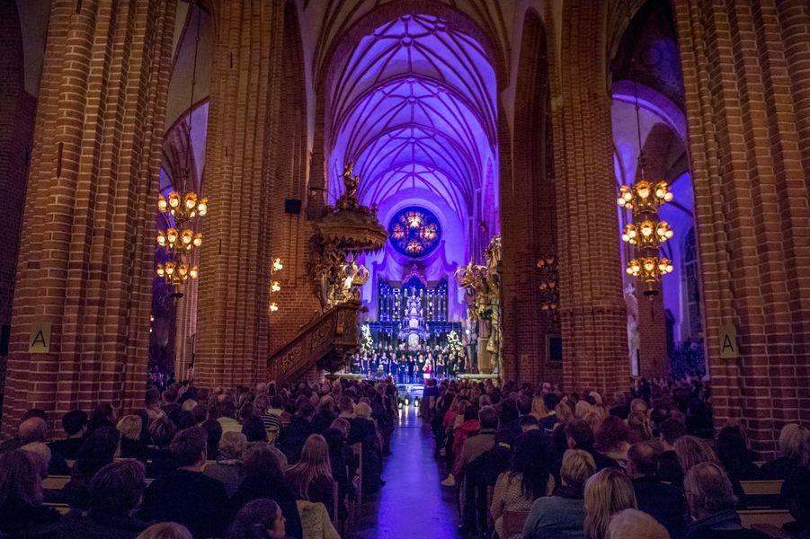 Princesse Sofia De Suede Au Concert De Noel À Stockholm Le 21 Décembre 2016 12