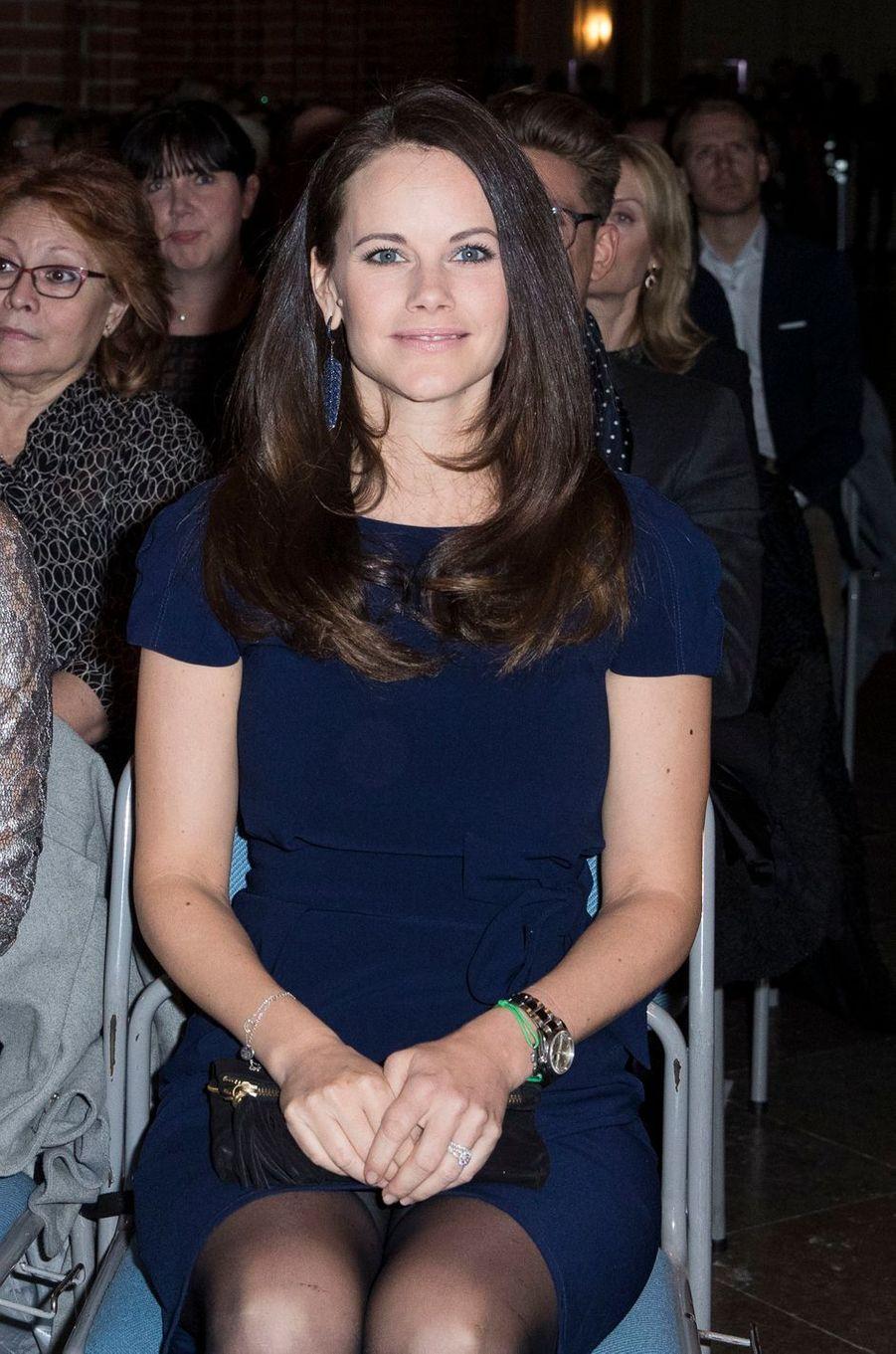 Princesse Sofia De Suede Au Concert De Noel À Stockholm Le 21 Décembre 2016 13