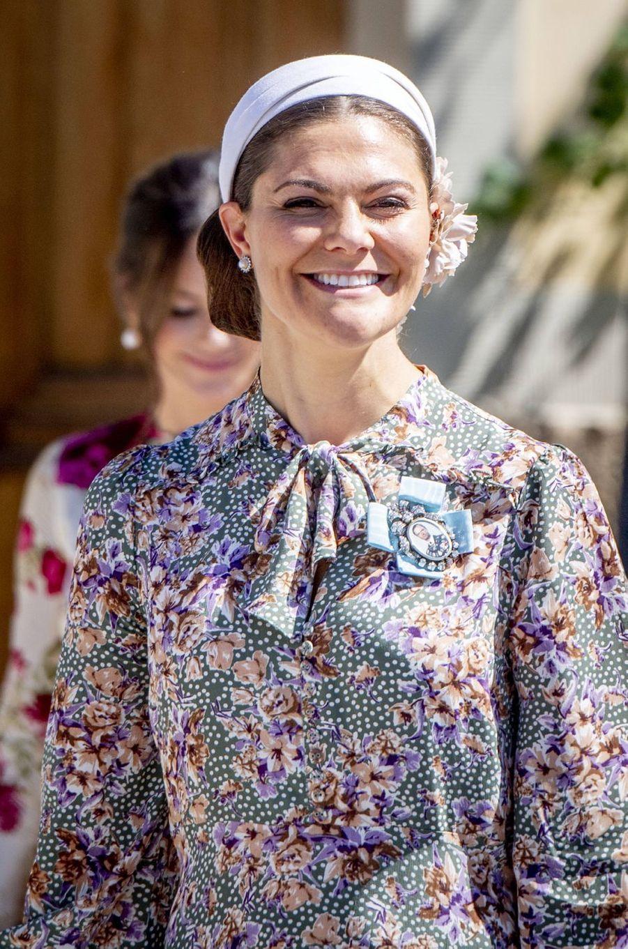 La princesse Victoria de Suède à Stockholm, le 8 juin 2018