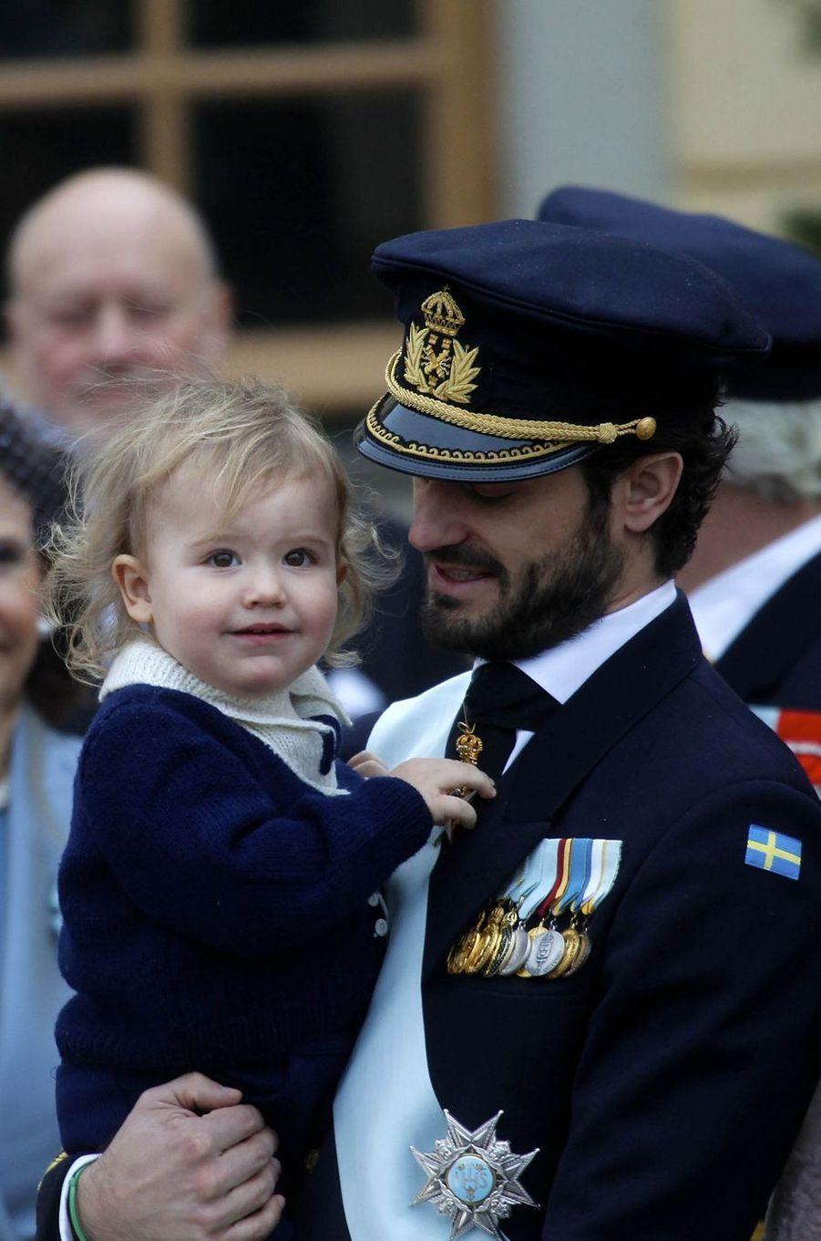 Les princes Carl Philip et Alexander de Suède à Stockholm, le 1er décembre 2017