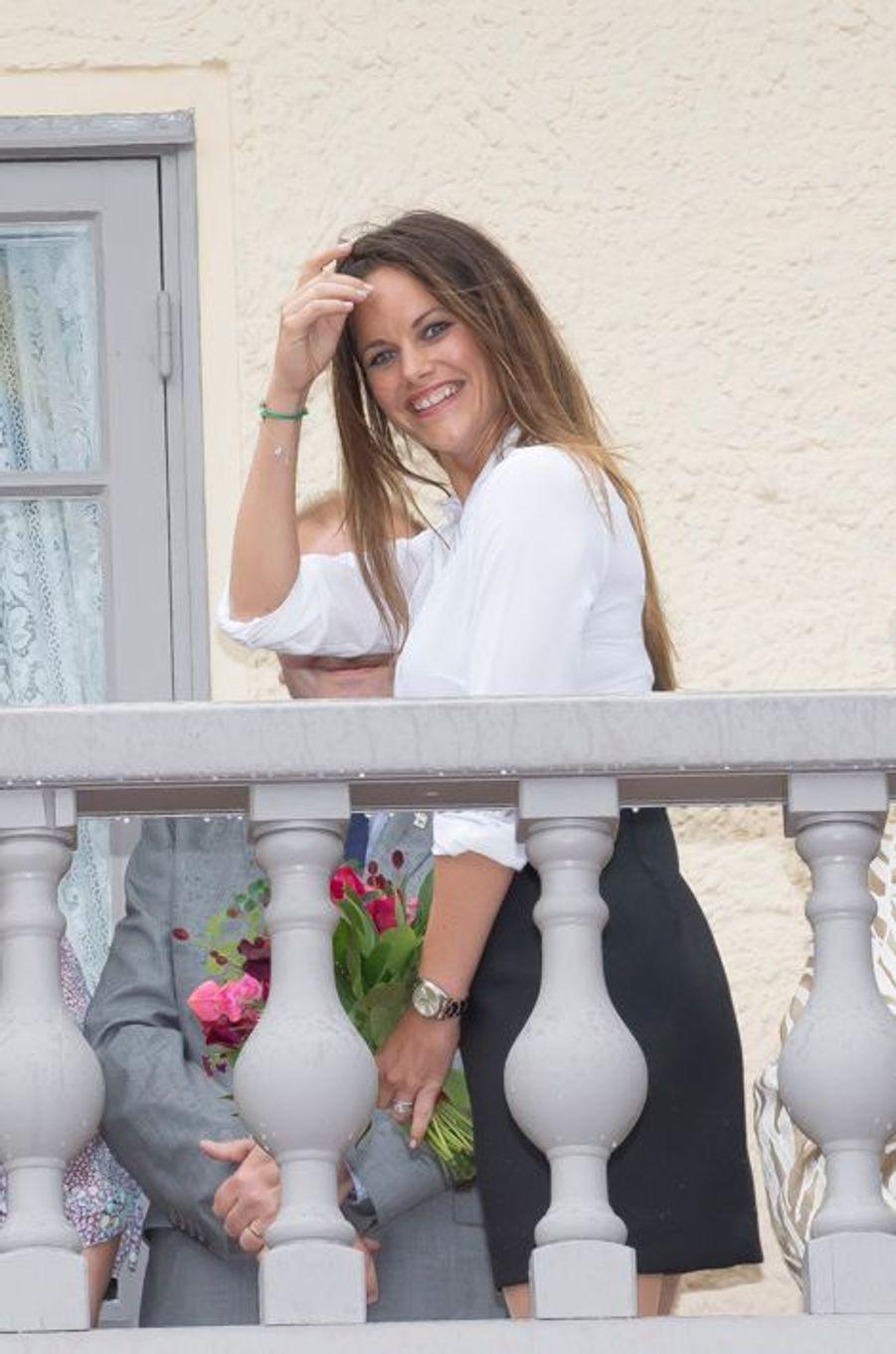 La princesse Sofia de Suède à Avrika, le 26 août 2015