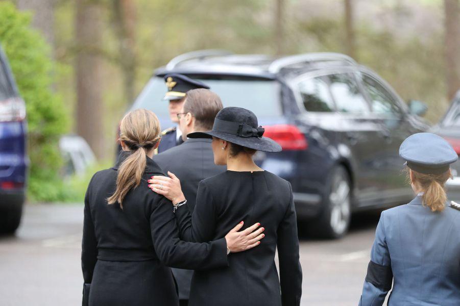 La princesse Victoria et la princesse Märtha Louise de Norvège à Alingsas, le 11 mai 2017