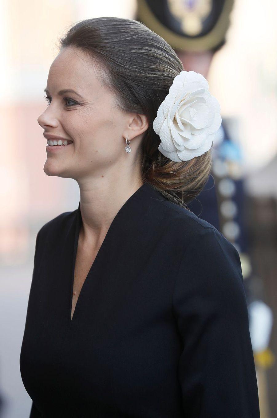 La princesse Sofia de Suède lors de la rentrée parlementaire, le 13 septembre 2016