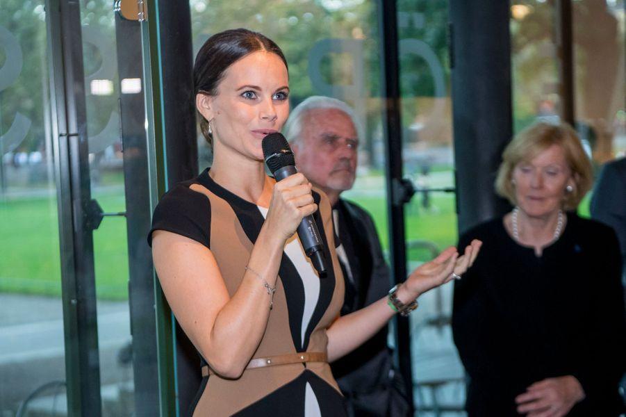 La princesse Sofia de Suède, le 27 septembre 2016