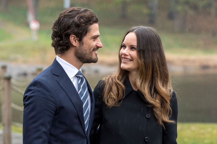 La princesse Sofia et le prince Carl Philip de Suède, le 21 octobre 2016