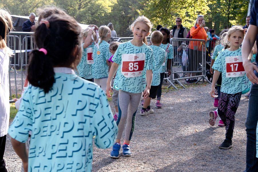 La princesse Estelle de Suède à Solna, le 16 septembre 2018