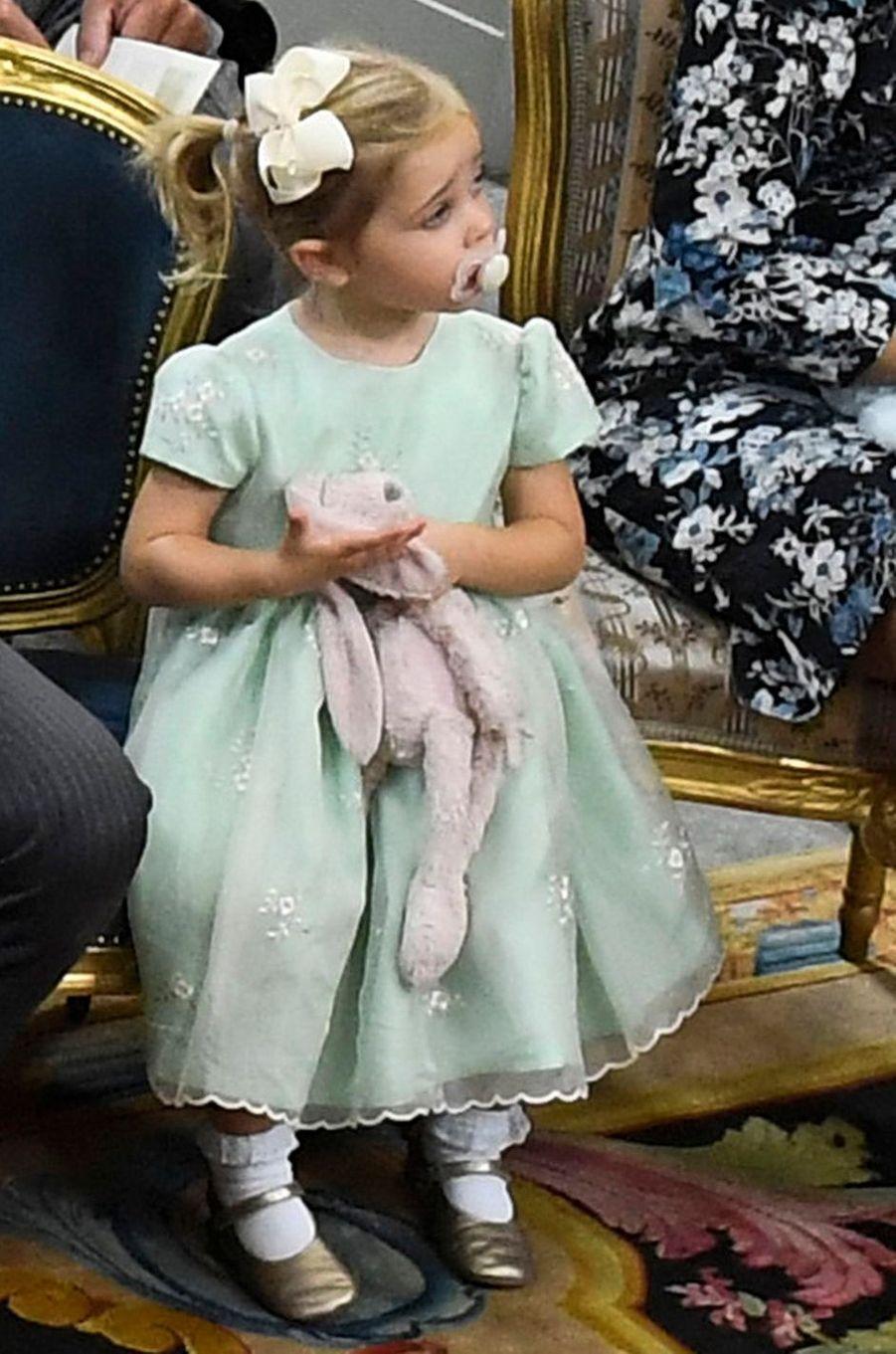 La princesse Leonore de Suède à Stockholm, le 9 septembre 2016