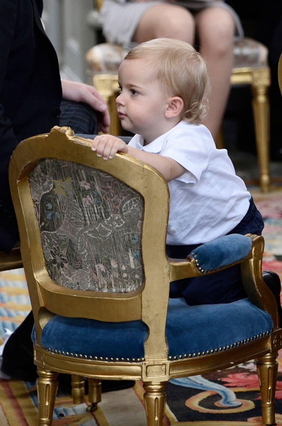 Le prince Nicolas de Suède à Stockholm, le 9 septembre 2016