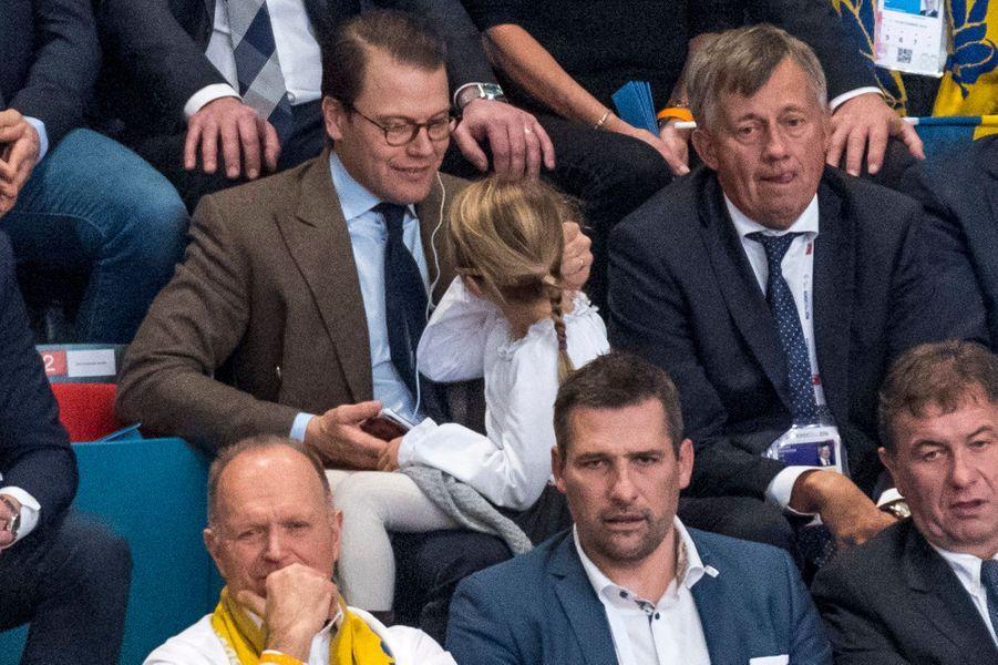 Estelle retrouve son énergie dans les gradins de l'Euro de hand