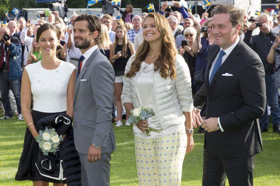 Les couples stars de la famille royale réunis