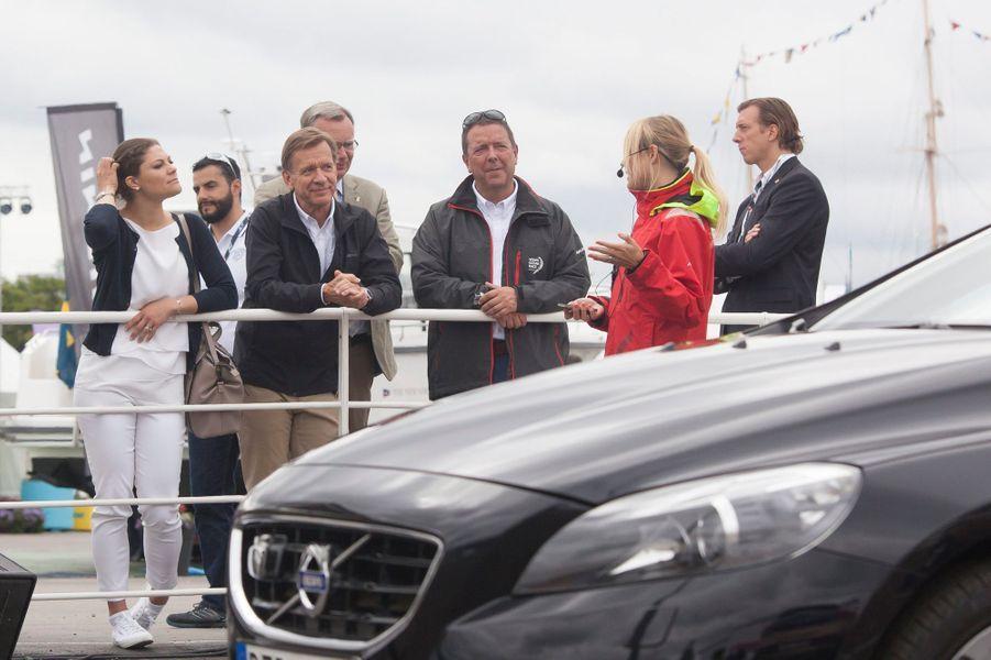 La princesse Victoria de Suède à Göteborg, le 27 juin 2015