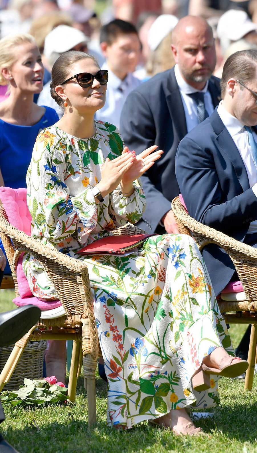 La princesse Victoria de Suède à Solna, le 6 juin 2019