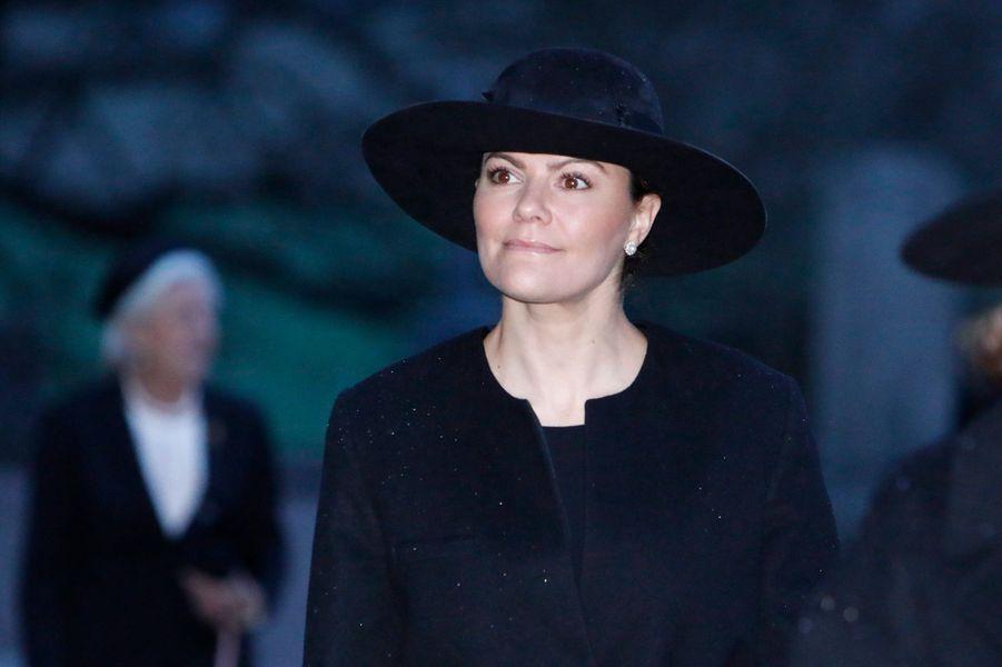 La princesse héritière Victoria de Suède à Rasbo, le 2 décembre 2018
