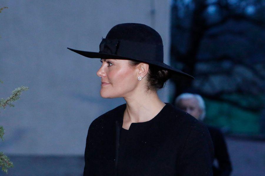 La princesse Victoria de Suède à Rasbo, le 2 décembre 2018