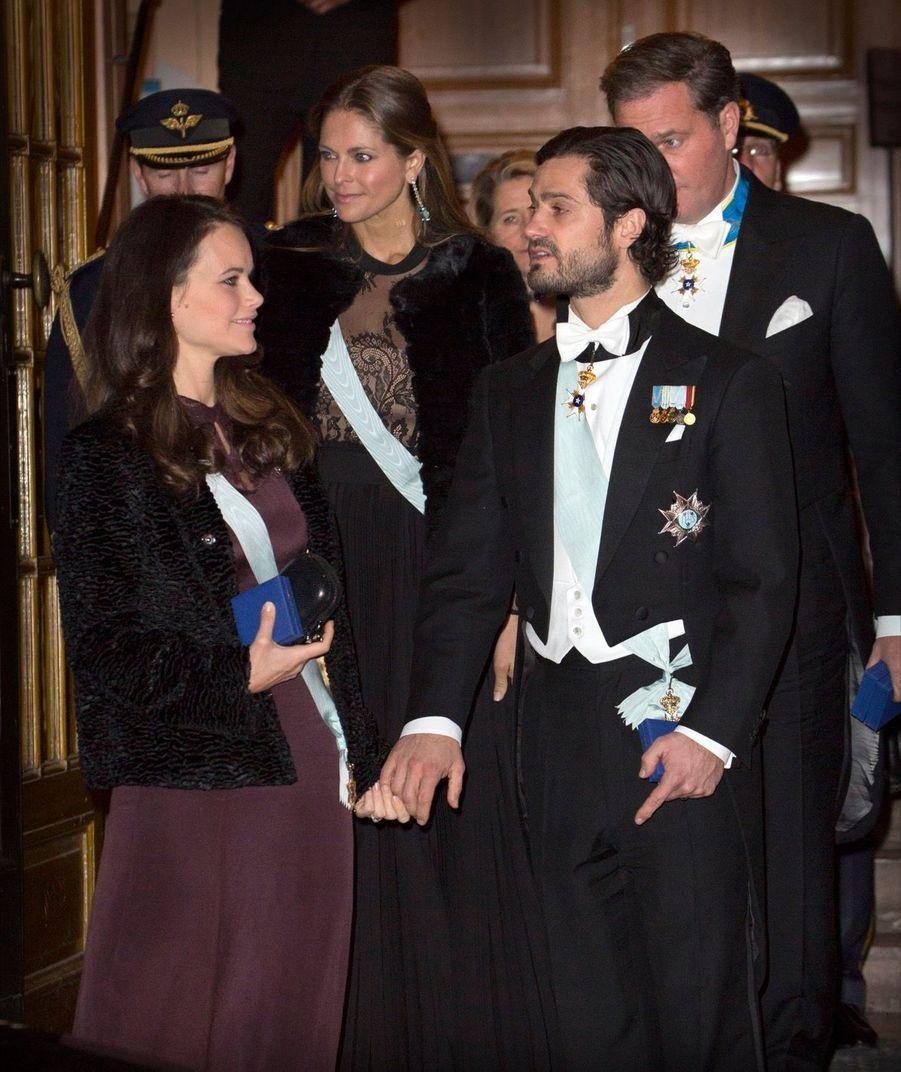 La Famille Royale Suédoise Réunie Pour L'assemblée De L'Académie 10