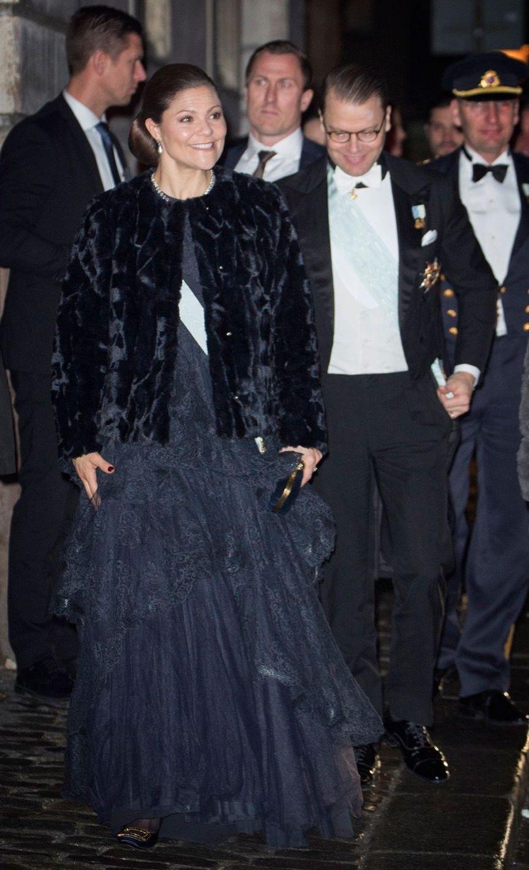 La Famille Royale Suédoise Réunie Pour L'assemblée De L'Académie 2