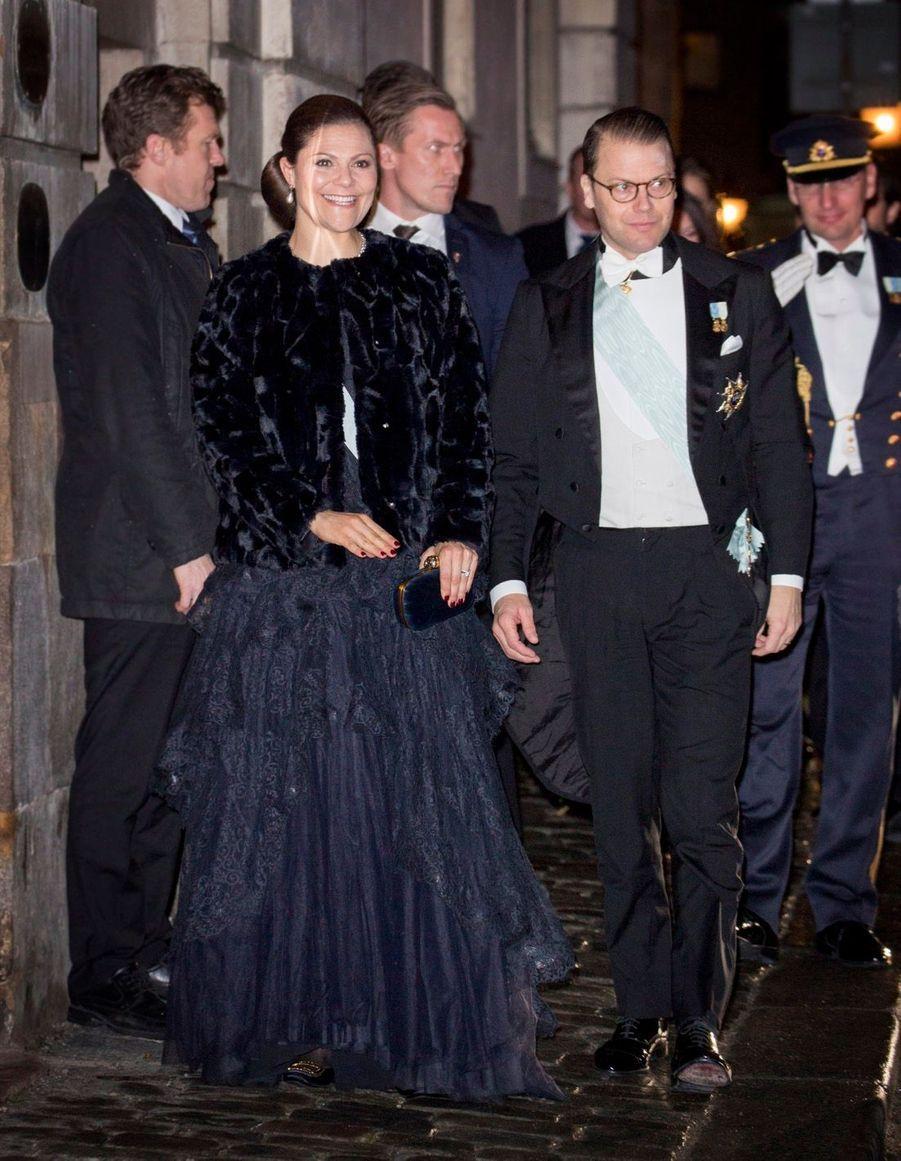 La Famille Royale Suédoise Réunie Pour L'assemblée De L'Académie 3