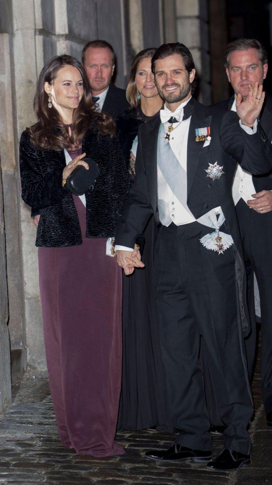 La Famille Royale Suédoise Réunie Pour L'assemblée De L'Académie 5