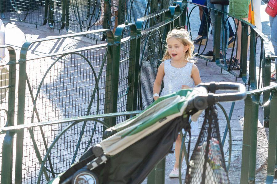 La princesse Leonore de Suède à Stockholm, le 27 mai 2018