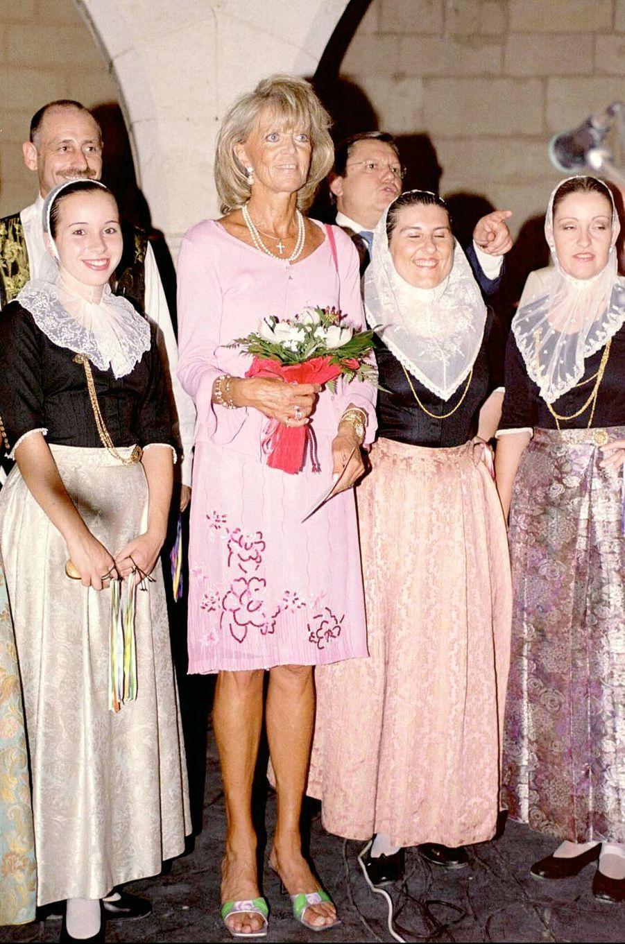 La princesse Birgitta de Suède en septembre 2000