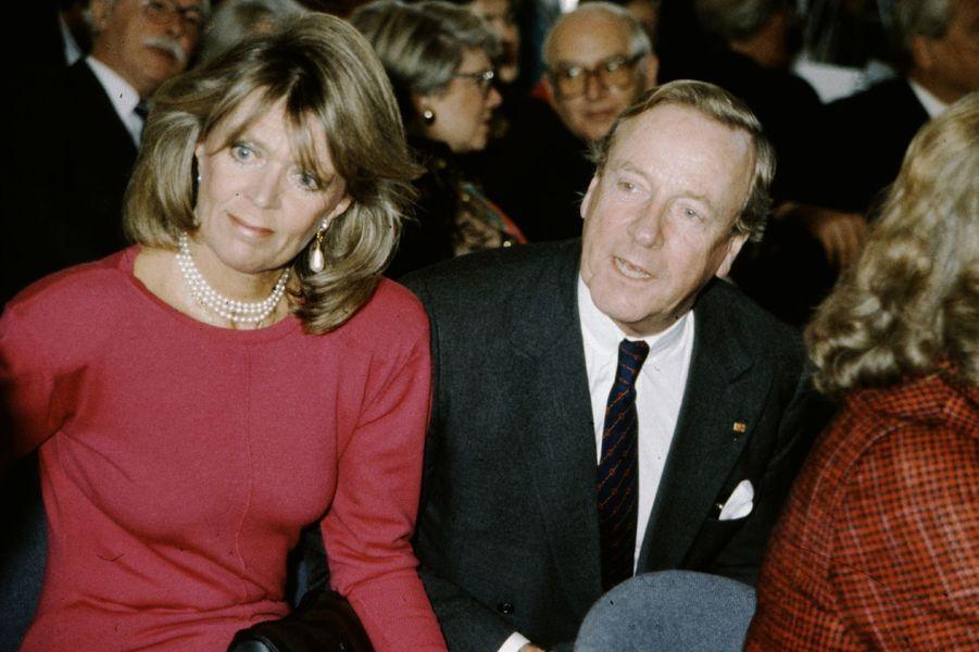 La princesse Birgitta de Suède avec son mari, en 1988