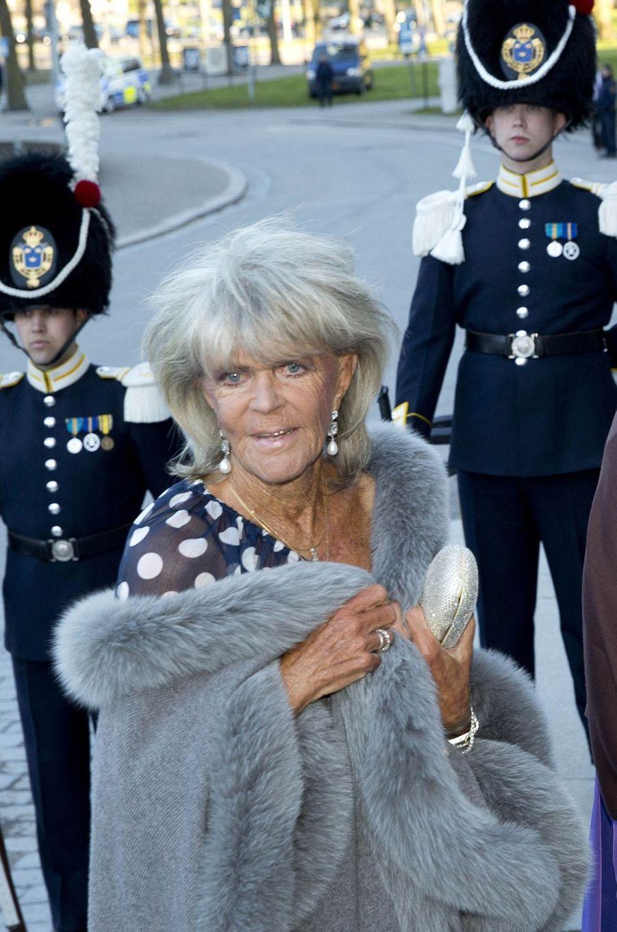 La princesse Birgitta de Suède, le 29 avril 2016