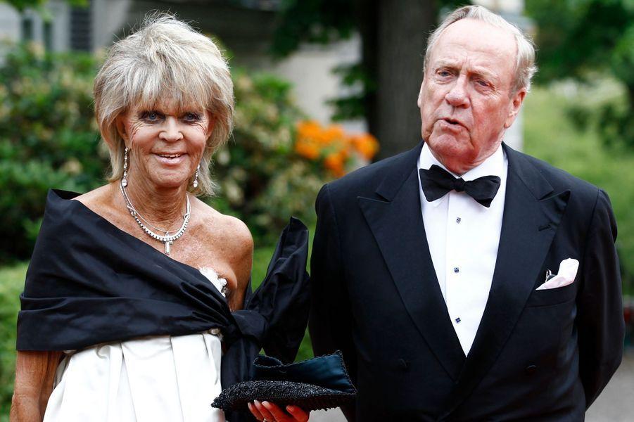 La princesse Birgitta de Suède avec son mari, le 18 juin 2010